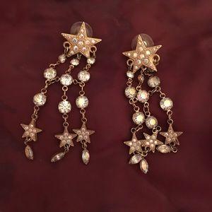 Kirks Folly Star dangle earrings